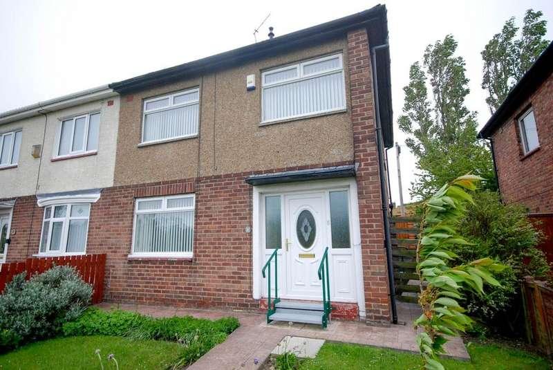 3 Bedrooms Semi Detached House for sale in Ribble Walk, Jarrow