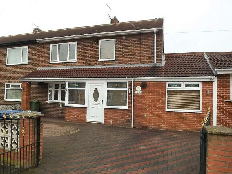 3 Bedrooms Semi Detached House for sale in Biddick Hall Drive, South Shields