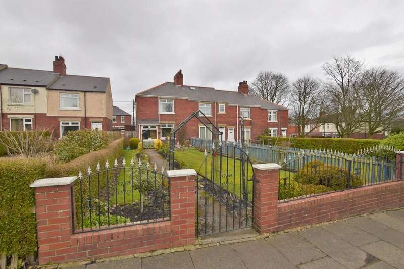 2 Bedrooms Terraced House for sale in Annfield Place, Greeencroft, Stanley