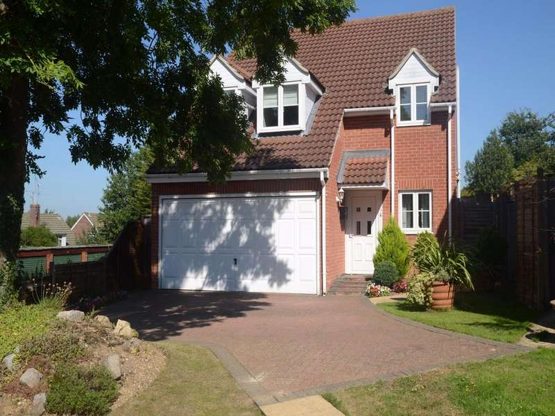4 Bedrooms Detached House for sale in Macarthur Close, Tilehurst, Reading, Berkshire, RG30