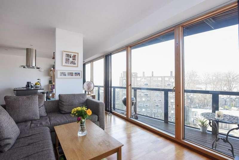 2 Bedrooms Flat for sale in Poole Street, Islington, N1