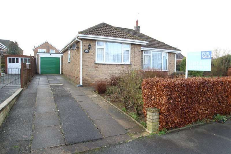 2 Bedrooms Detached Bungalow for sale in HEATH DRIVE, BOSTON SPA, LS23 6PB