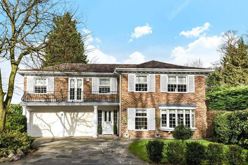 5 Bedrooms Detached House for sale in Ashfield Lane, Chislehurst, BR7
