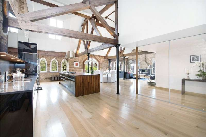 3 Bedrooms Penthouse Flat for sale in Olivers Wharf, 64 Wapping High Street, London, E1W