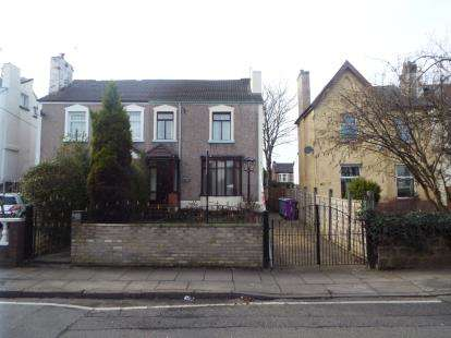5 Bedrooms Semi Detached House for sale in Church Road, Liverpool, Merseyside, England, L13