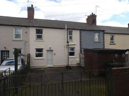 2 Bedrooms Terraced House for sale in Foundry Terrace, Newstead Village, Nottingham, Nottinghamshire