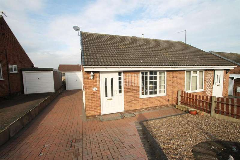 2 Bedrooms Bungalow for sale in Acacia Crescent, Killamarsh