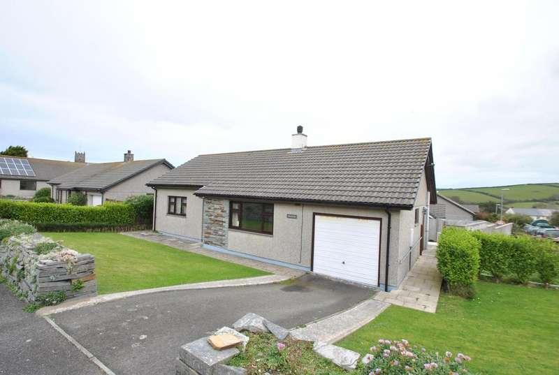 3 Bedrooms Bungalow for sale in Trefleur Close, Boscastle