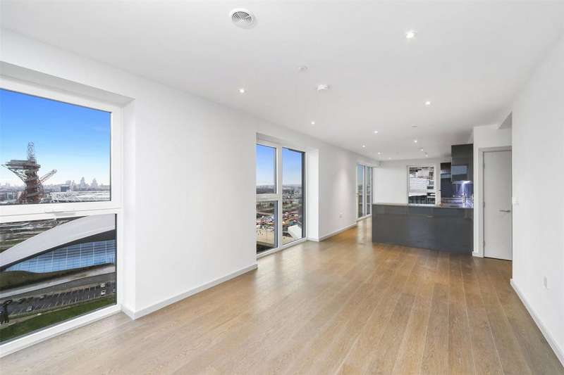 3 Bedrooms Penthouse Flat for sale in Lantana Heights, Glasshouse Gardens, Stratford, London, E20