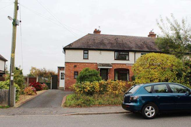 3 Bedrooms Semi Detached House for sale in 66 Limekiln Lane, Lilleshall, Newport, Shropshire, TF10 9EX