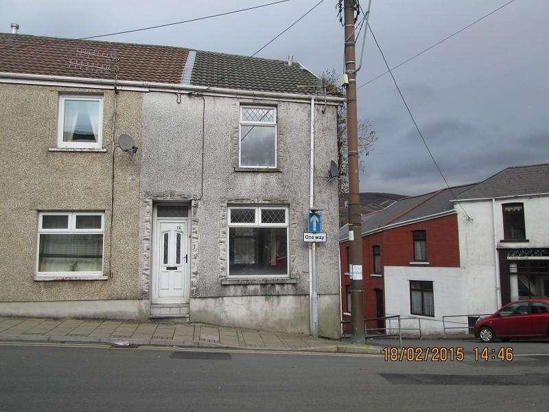2 Bedrooms Terraced House for sale in 1a St. Michaels Road, Maesteg, Bridgend. CF34 9PA