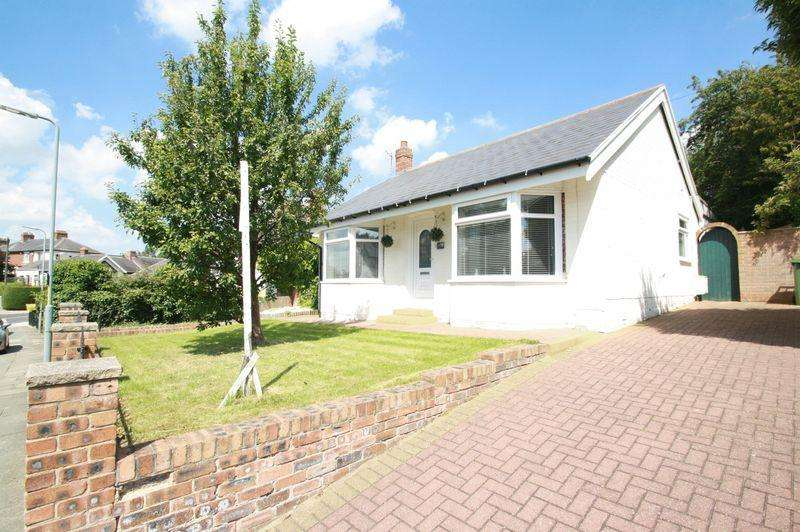 2 Bedrooms Detached Bungalow for sale in Grange Avenue, Grangefield, Stockton, TS18 4LT