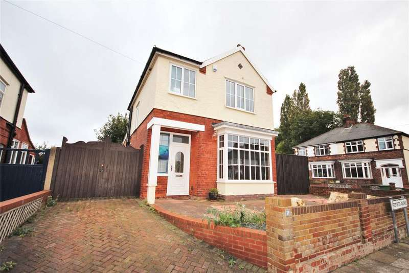 3 Bedrooms Detached House for sale in Reporto Avenue, Grimsby, DN32