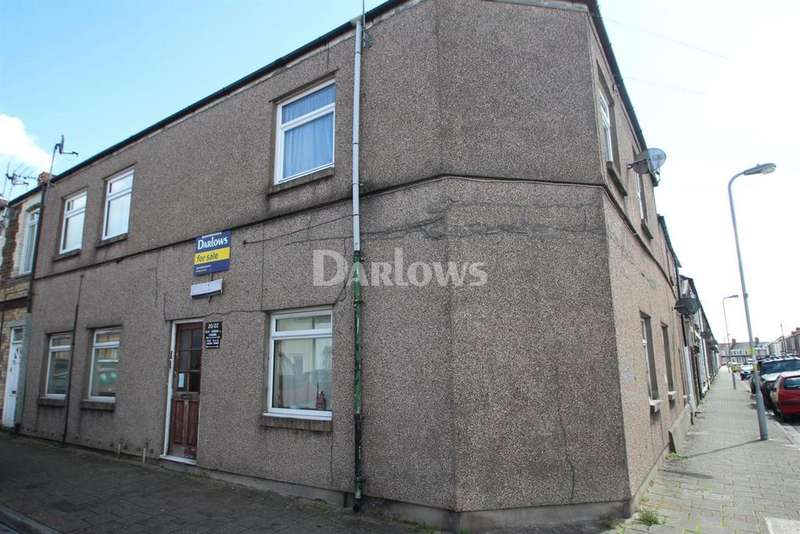 2 Bedrooms Flat for sale in Carlisle Street, Splott