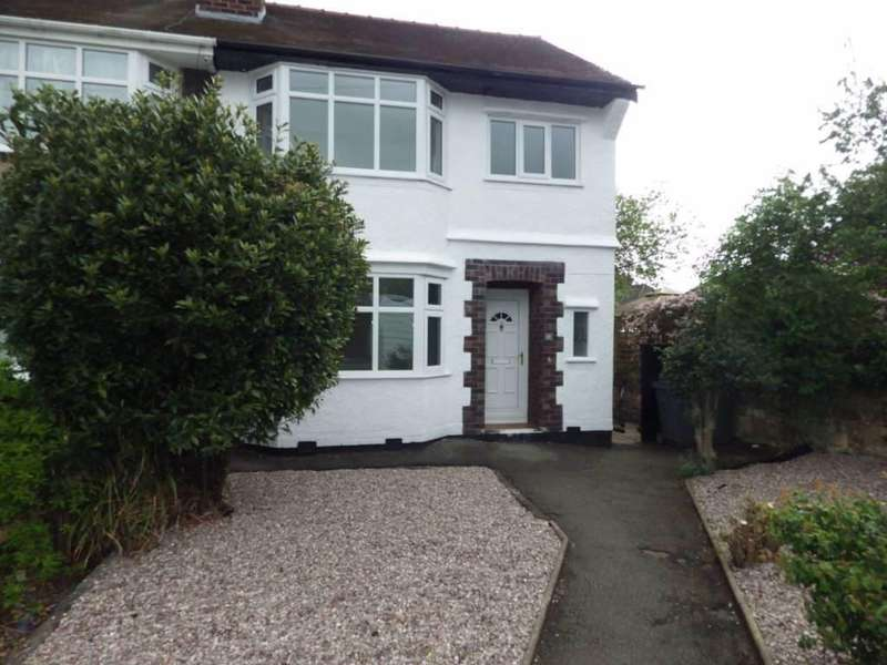 3 Bedrooms Semi Detached House for sale in Eversleigh Drive, Bebington