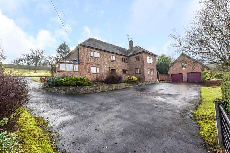 5 Bedrooms Detached House for sale in Ox Drove, Andover