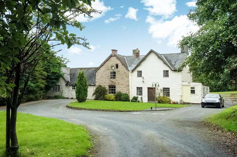 6 Bedrooms Equestrian Facility Character Property for sale in Llandegley, Llandrindod Wells, Powys
