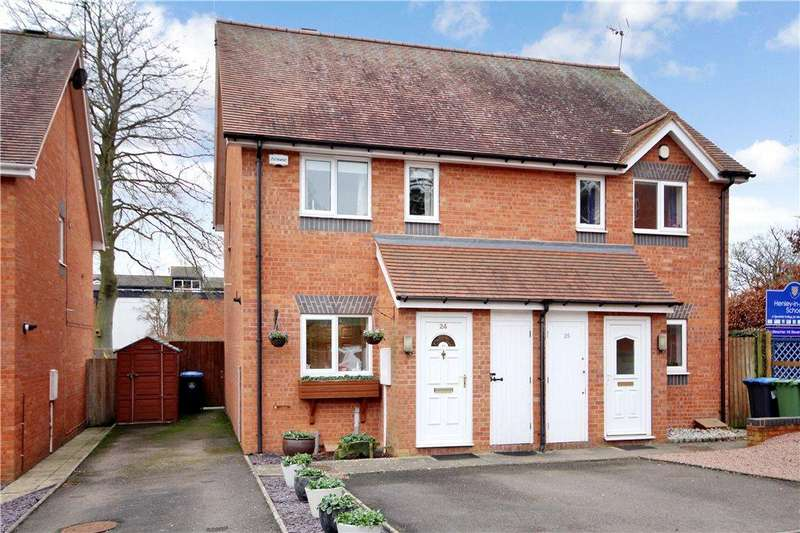 2 Bedrooms Semi Detached House for sale in Littleworth, Henley-in-Arden, Warwickshire, B95