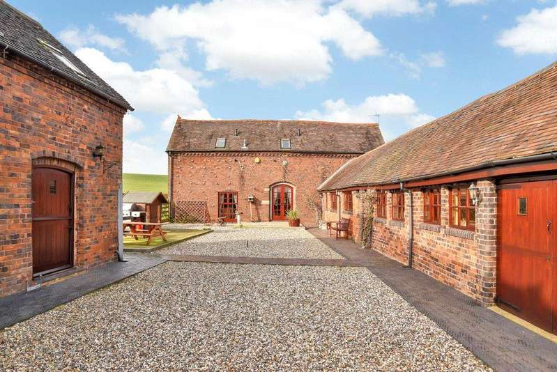 5 Bedrooms Barn Conversion Character Property for sale in Warton, Tamworth, Warwickshire