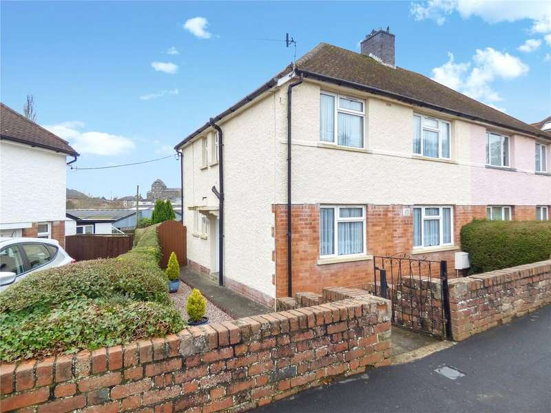 4 Bedrooms Semi Detached House for sale in Western Grove, Builth Wells, Powys