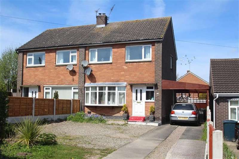 3 Bedrooms Semi Detached House for sale in Lansdowne Crescent, Bayston Hill, Shrewsbury