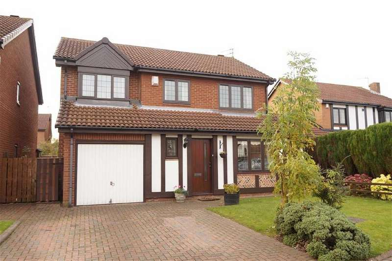 4 Bedrooms Detached House for sale in Shrewsbury Close, Newcastle Upon Tyne, NE7