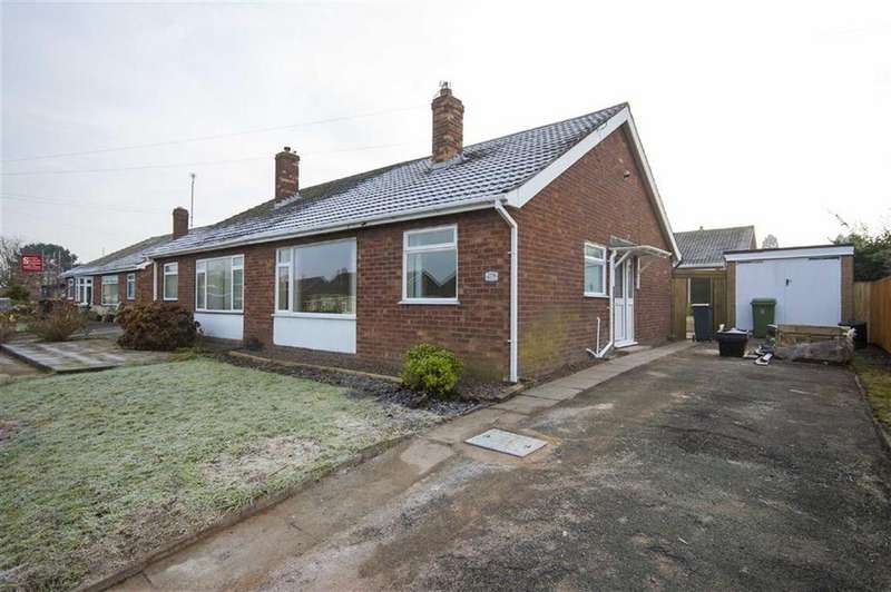 2 Bedrooms Semi Detached Bungalow for sale in Crowmere Road, Belvidere, Shrewsbury, Shropshire