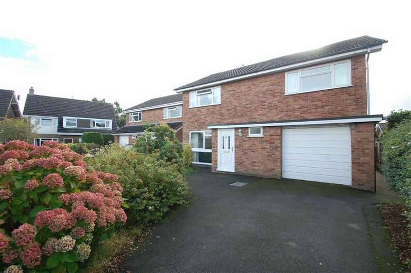4 Bedrooms Detached House for sale in Kingston Drive, Off London Road, Shrewsbury
