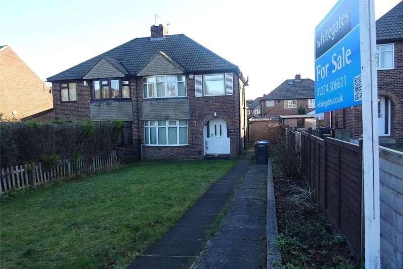 3 Bedrooms Semi Detached House for sale in Allerton Road, Allerton, Bradford, West Yorkshire, BD15