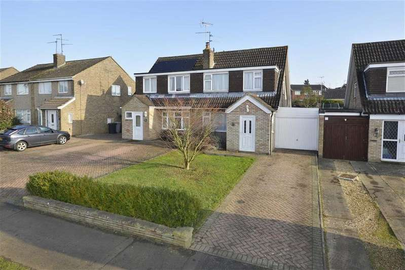 3 Bedrooms Semi Detached House for sale in Churchill Way, Kettering
