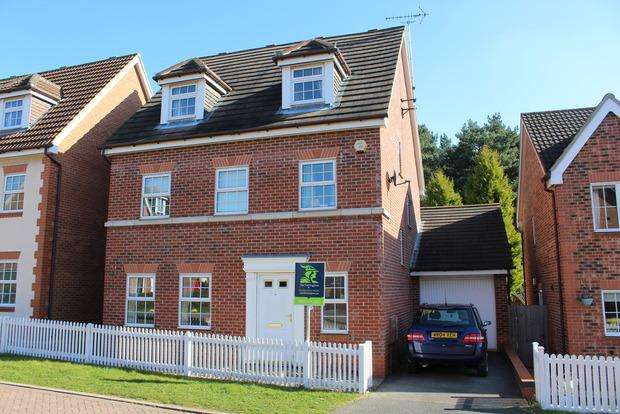 5 Bedrooms Detached House for sale in Emmerson Drive, Clipstone Village, Mansfield, NG21