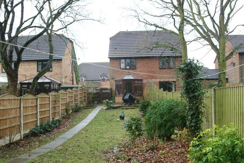 2 Bedrooms Semi Detached House for sale in Cardinal Close, Rossington
