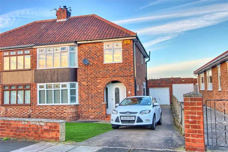 3 Bedrooms Semi Detached House for sale in Hollywalk Drive, Normanby