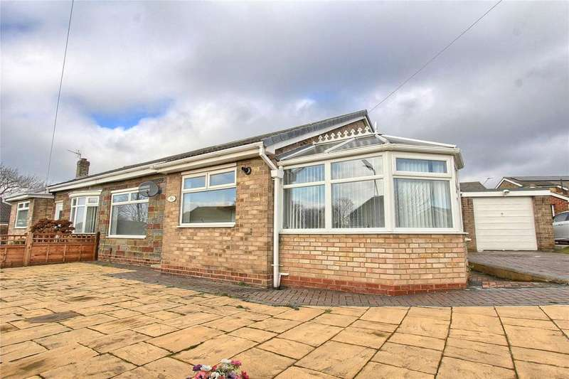 3 Bedrooms Semi Detached Bungalow for sale in Grosvenor Road, Wolviston Court