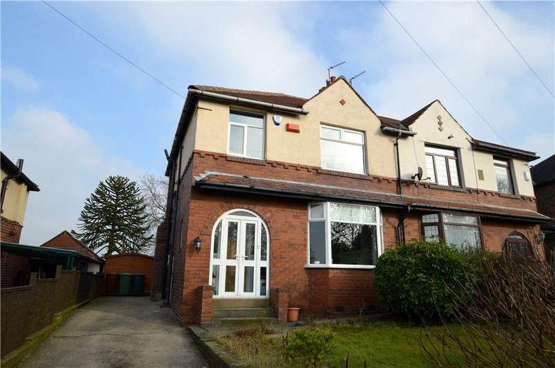 3 Bedrooms Semi Detached House for sale in Owlcotes Road, Pudsey, West Yorkshire