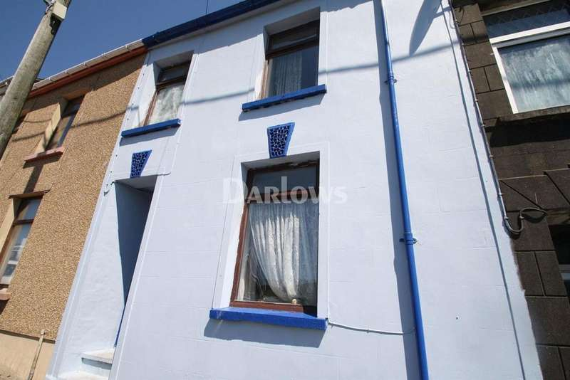 3 Bedrooms Terraced House for sale in Rhyd Terrace, Georgetown, Tredegar, Gwent
