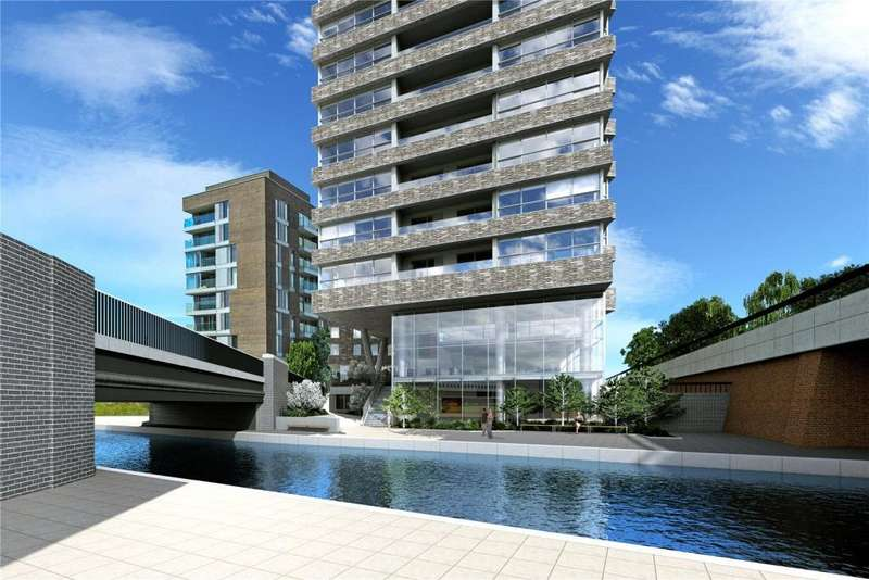 2 Bedrooms Flat for sale in Onyx Apartments, 102 Camley Street, London, N1C