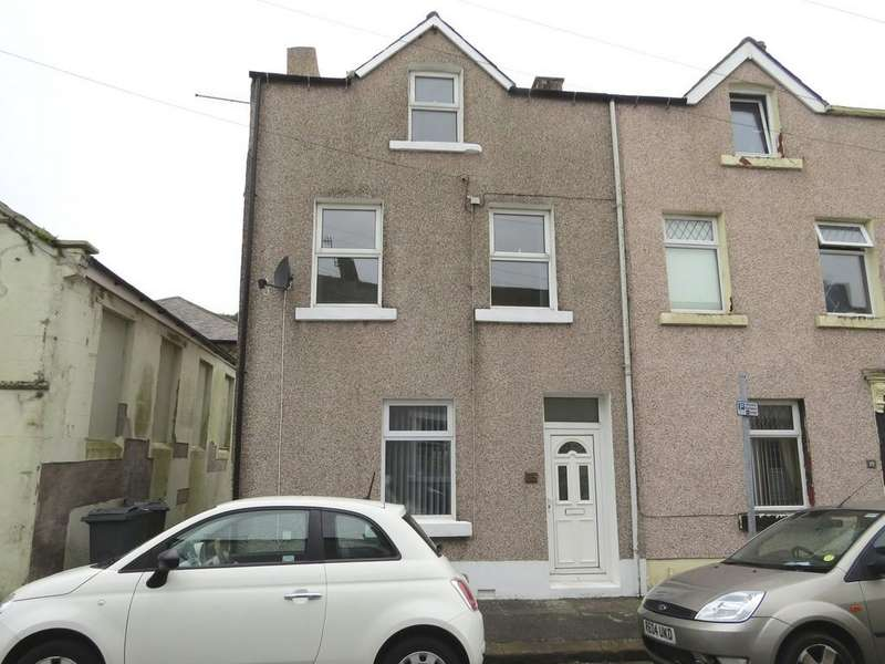 2 Bedrooms End Of Terrace House for sale in Mill Street, Whitehaven, Cumbria