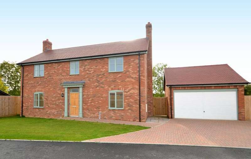 4 Bedrooms Detached House for sale in Thurtells Close, Westleton Road, Yoxford, Saxmundham, Suffolk