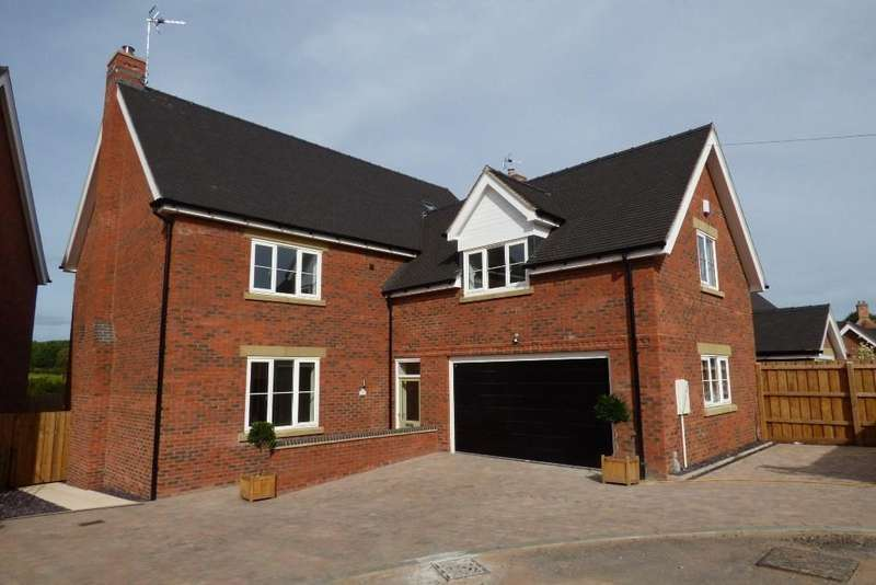 5 Bedrooms Detached House for sale in Green Farm Meadows, Seighford