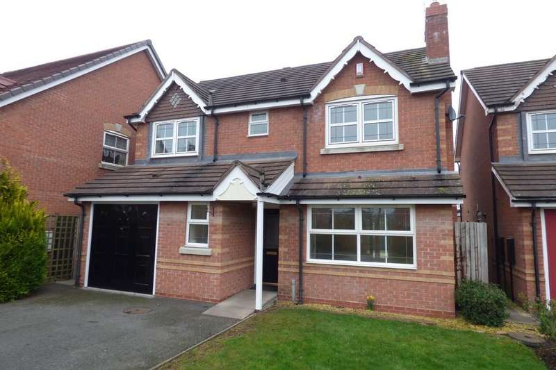 4 Bedrooms Detached House for sale in St. Catherines Close, Uttoxeter, ST14 8EF