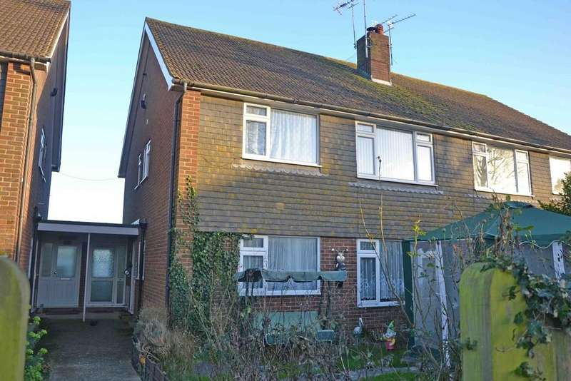 2 Bedrooms Apartment Flat for sale in Old Manor Road, Rustington