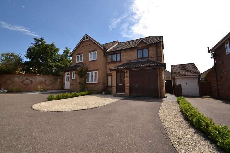 3 Bedrooms Semi Detached House for sale in Kiln Road, Horsford
