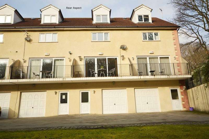 4 Bedrooms Terraced House for sale in Riverside Mews, Horsforth, Leeds