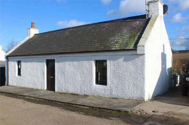 1 Bedroom Cottage House for sale in Berryhillock, Deskford, Buckie, Moray