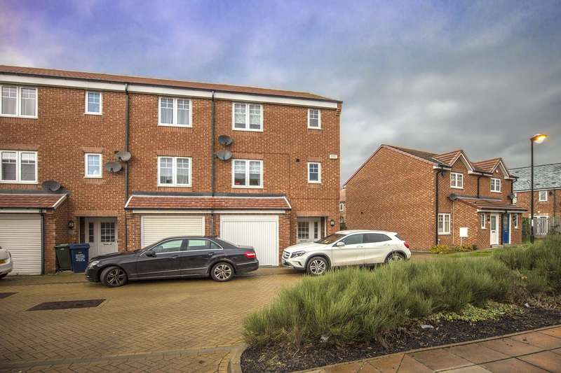 4 Bedrooms House for sale in Alnmouth Court, Newcastle Upon Tyne
