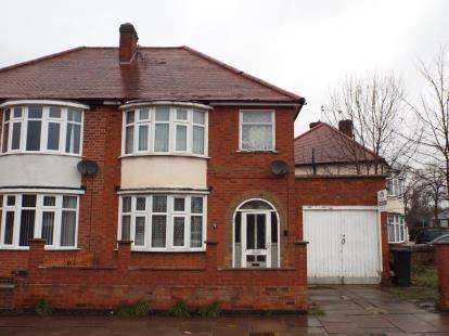 3 Bedrooms Semi Detached House for sale in Cairnsford Road, West Knighton, Leicester, Leicestershire