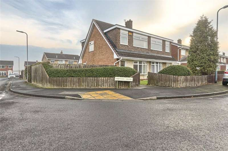 3 Bedrooms Semi Detached House for sale in Shepton Close, Thornaby