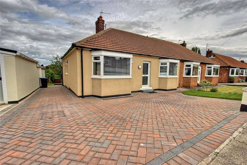 2 Bedrooms Semi Detached Bungalow for sale in Holbeck Avenue, Brookfield