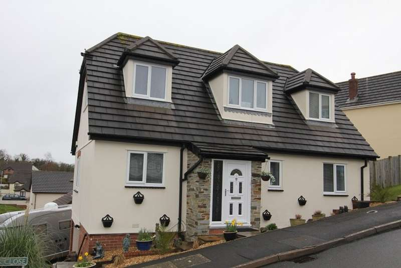 4 Bedrooms Detached House for sale in Bunting Close, Newton Abbot